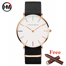 Купить с кэшбэком 2017 DW Style Fashion Clock Men Watch Top Brand Luxury Quartz watch Rose Gold Male Sport Watches Reloj Hombre Relogio Masculino