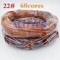 5 metros/10 metros B/R/W/B/R/O 60 núcleos servo cable de extensión de plomo cable (sin enchufe) cable de alambre cable de extensión servo servo ampliado DIY