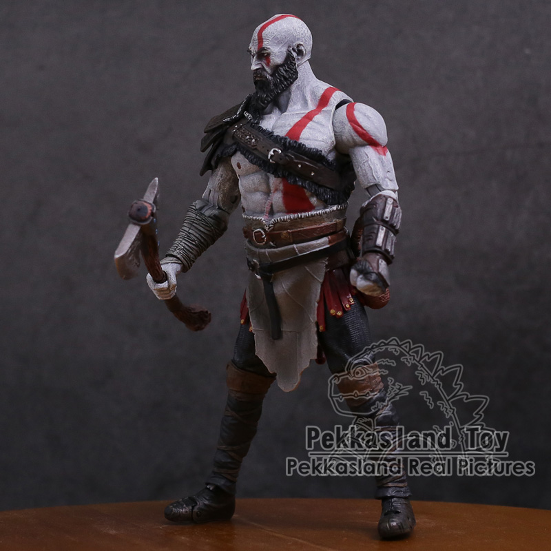 Image 3 - Original God of War 4 Kratos PVC Action Figure Collectible Model Toy 7inch 18cmAction & Toy Figures   -