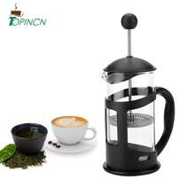 350 600 1000 Ml Portable Manual Bahasa Perancis Menekan Pot Kopi Filter Pot Rumah Tangga Mesin Kopi Pot Masuki Alat(China)
