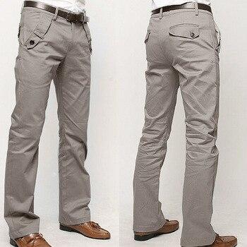 High quality 2020 Fashion Men joker slacks Cotton straight business long men s chinos trousers casual pants pantalon homme
