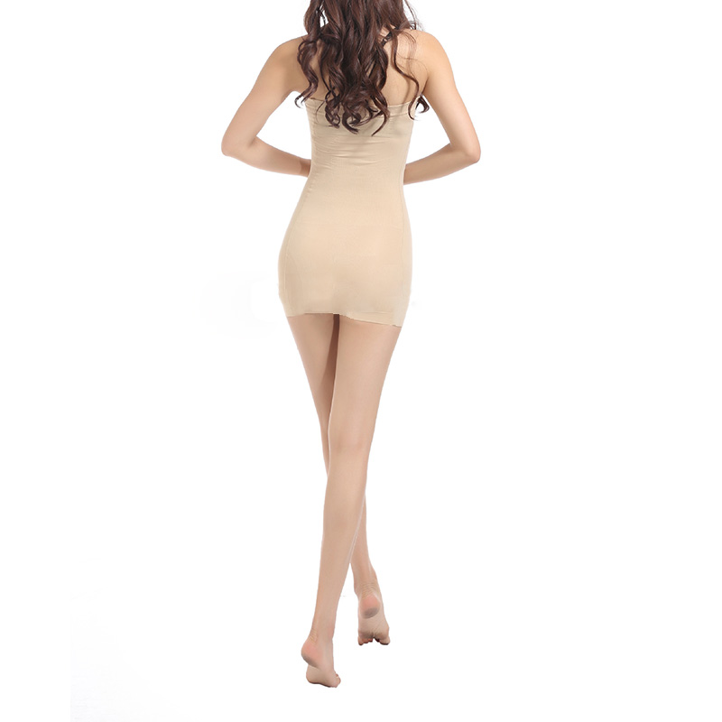 1b3aa701cd Women s Seamless Full Slip Shapewear Smoothed Slimming Tube Dress S M L XL  XXXL-in Dresses from Women s Clothing on Aliexpress.com