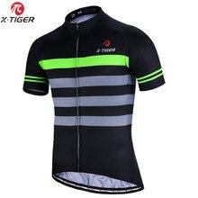 X-TIGER verano ciclismo Jersey ropa para bicicleta de montaña de MTB bicicleta ropa 100% ropa para ciclismo de poliéster uniforme