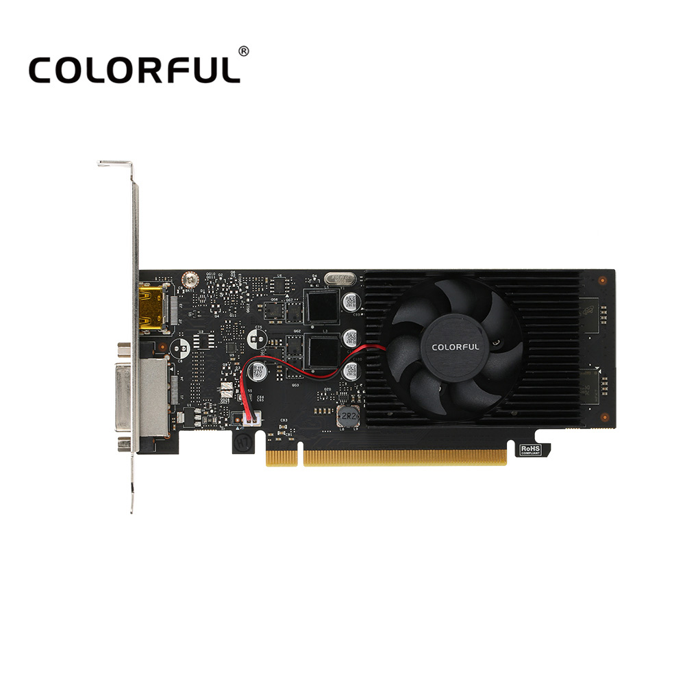 Colorful Lp Nvidia Gt1030 2g 2gb 64bit Gddr5 Pci E 30 1468mhz Video Asus Geforce Gt 1030 Ddr4 Graphics Card Dvi For Playerunknowns Battlegrounds In Cards From Computer
