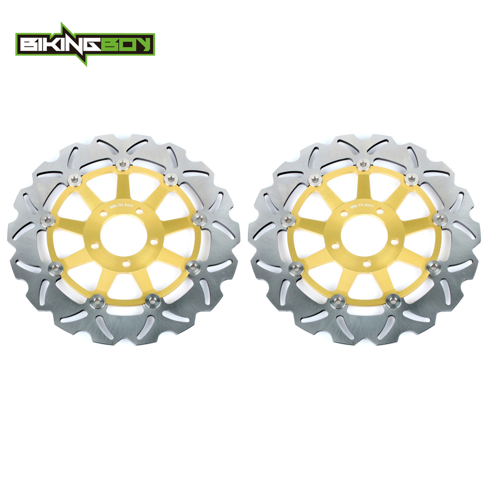 Bikingboy полный набор спереди тормозные диски роторов диск для Suzuki gsx-r 600 750 97-03 TL 1000 R S GSX 1300 R, Rz Hayabusa GSX 1400 01-08