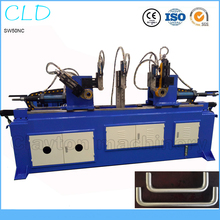 SW-50 Double head steel pipe bending machine price automatic hydraulic