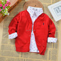 100% cotton quality boys and girls cardigan sweater coat all for children clothing and accessories baby spring autumn clothes