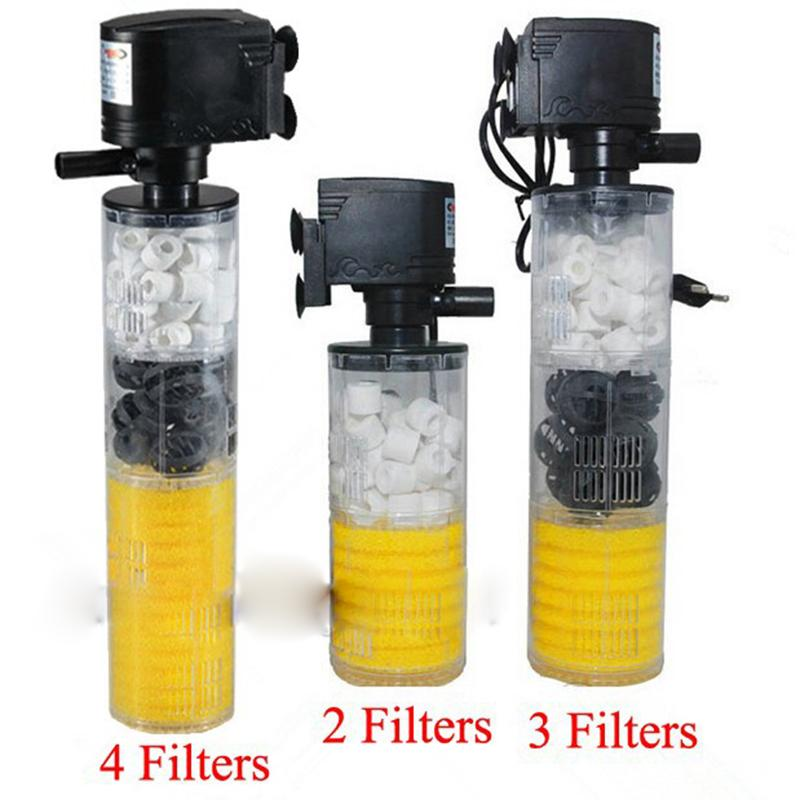 how to put filter in aquarium