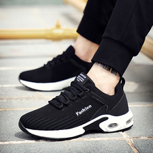 GUDERIAN Big Size 38-48 Summer Men Sneakers Breathable Mesh Man Casual Shoes Lace Up Krasovki Trainers Shoe Zapatilla Hombre