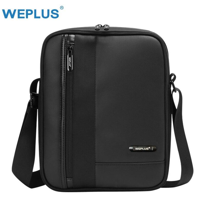 Weplus Messenger Bag Mannen Lederen Wateproof Crossbody Tassen Voor Vrouwen Mannen Schoudertas Voor Ipad Business Obstructie Verwijderen