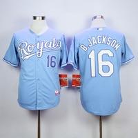 MLB Men S KANSAS CITY ROYALS BO JACKSON Eric Hosmer Salvador Perez Jersey