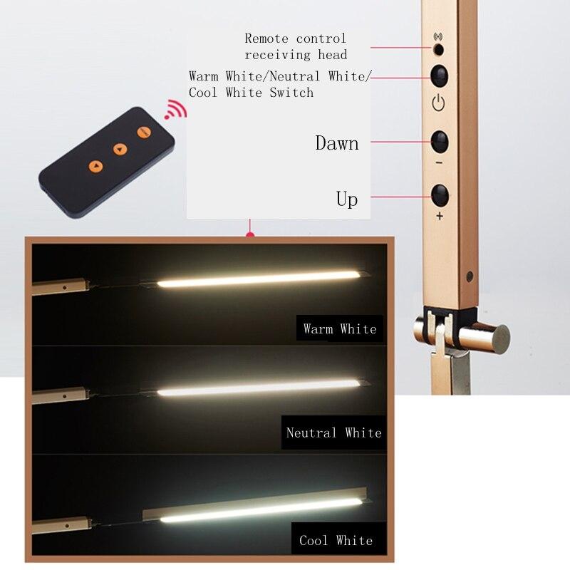 Lâmpadas de Mesa braço longo lâmpada de mesa Base : Cunha
