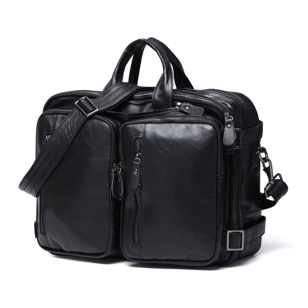 Luxury Brand Men Large Genuine Leather Travel Men Handbag Business Briefcase Laptop Messenger Male Crossbody Bag Shoulder Bag augur men s messenger bag multifunction canvas leather crossbody bag men military army vintage large shoulder bag travel bags