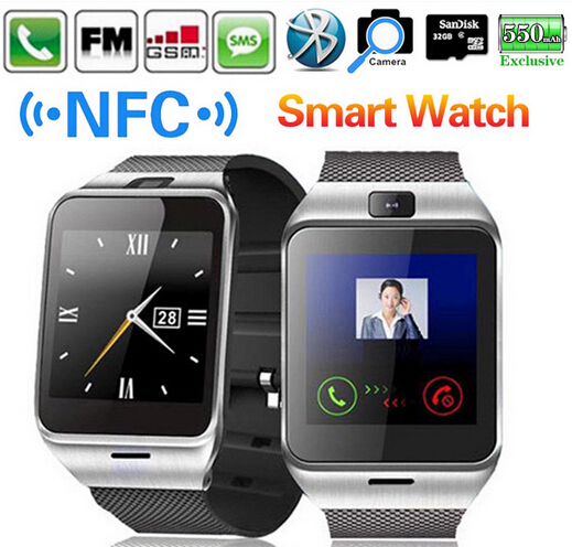 2015 Waterproof Aplus GV18 Plus Smart band phone GSM NFC Camera wrist Band SIM card Smartband