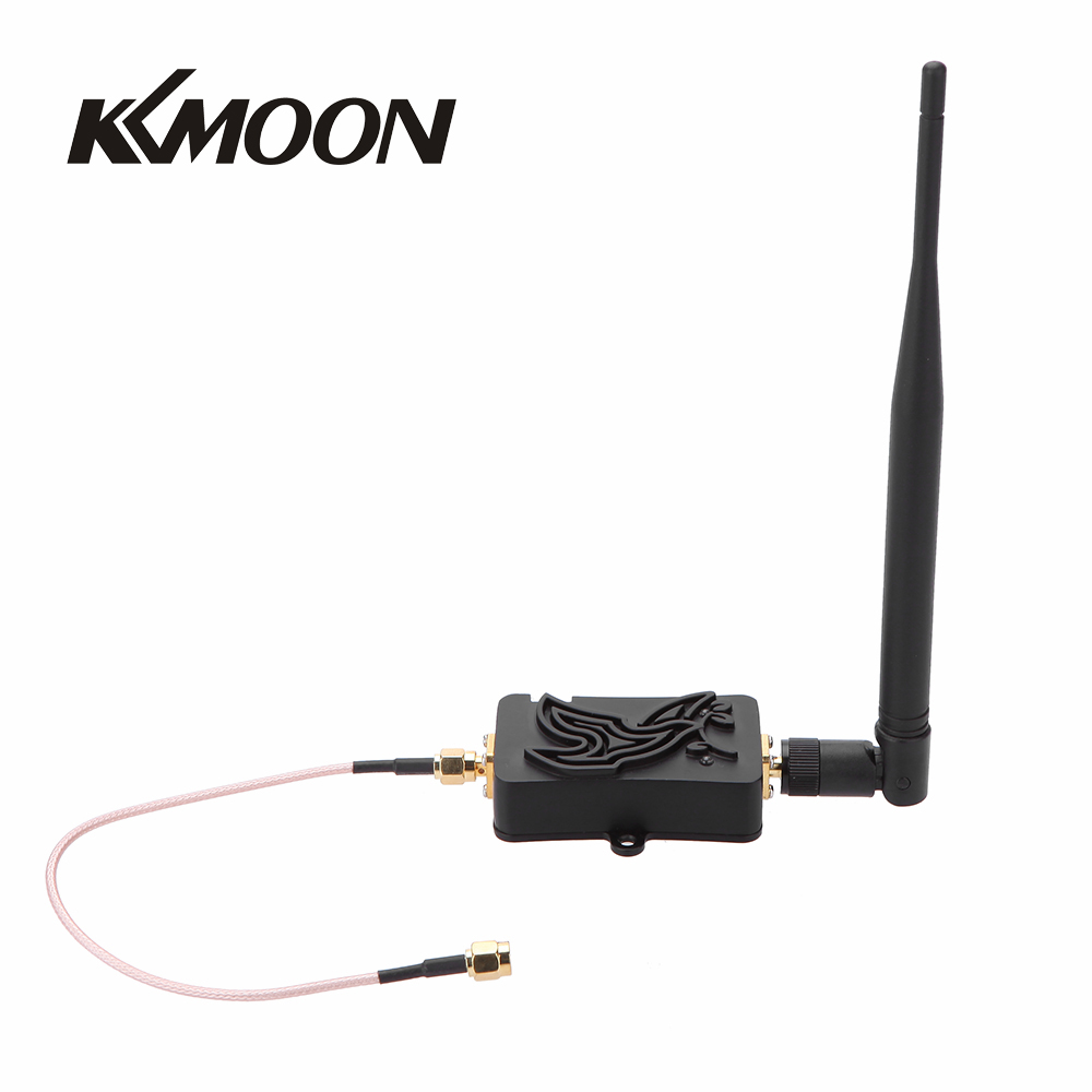 4W 4000mW 802.11b/g/n Wifi Wireless Amplifier Router 2.4Ghz WLAN ...