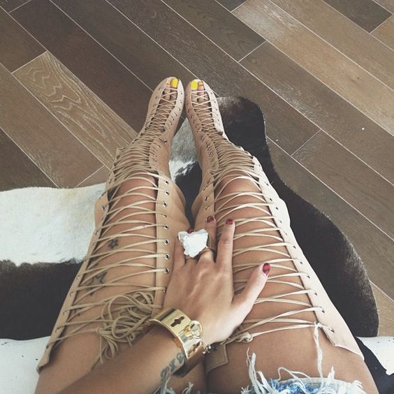 high quality nude suede lace-up thigh high boots 2017 summer cutouts gladiator sandal boots sexy open toe high heel boots 2017 summer newest leopard printed flat sandal sexy open toe lace up gladiator sandal cutouts woman fashion shoes