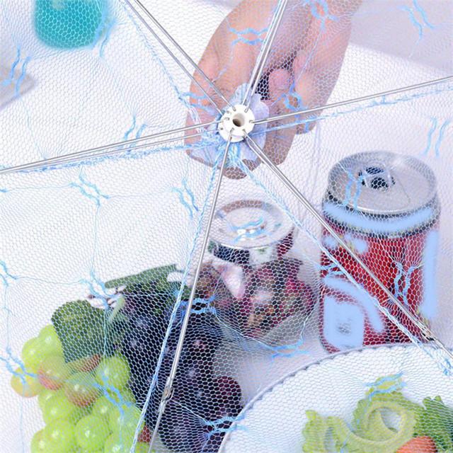 Umbrella Styled Food Dish Cover