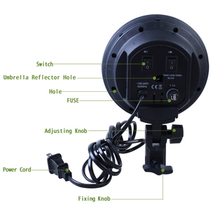 Image 5 - Photo Studio 50*70cm Softbox E27 4 Lamp Holder 100 240v Lighting Soft Box Photography Kit