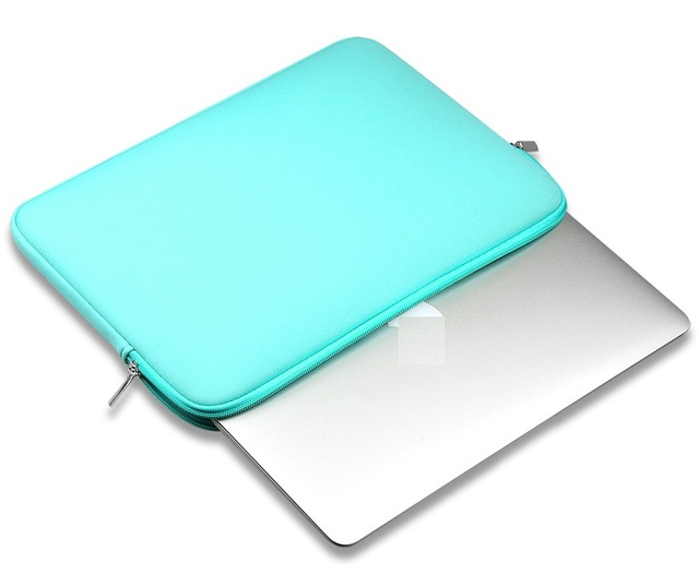 Hot Zipper Computer Sleeve Case For Macbook Laptop AIR PRO Retina 11 12 13 14 15 13.3 15.4 15.6 inch 5