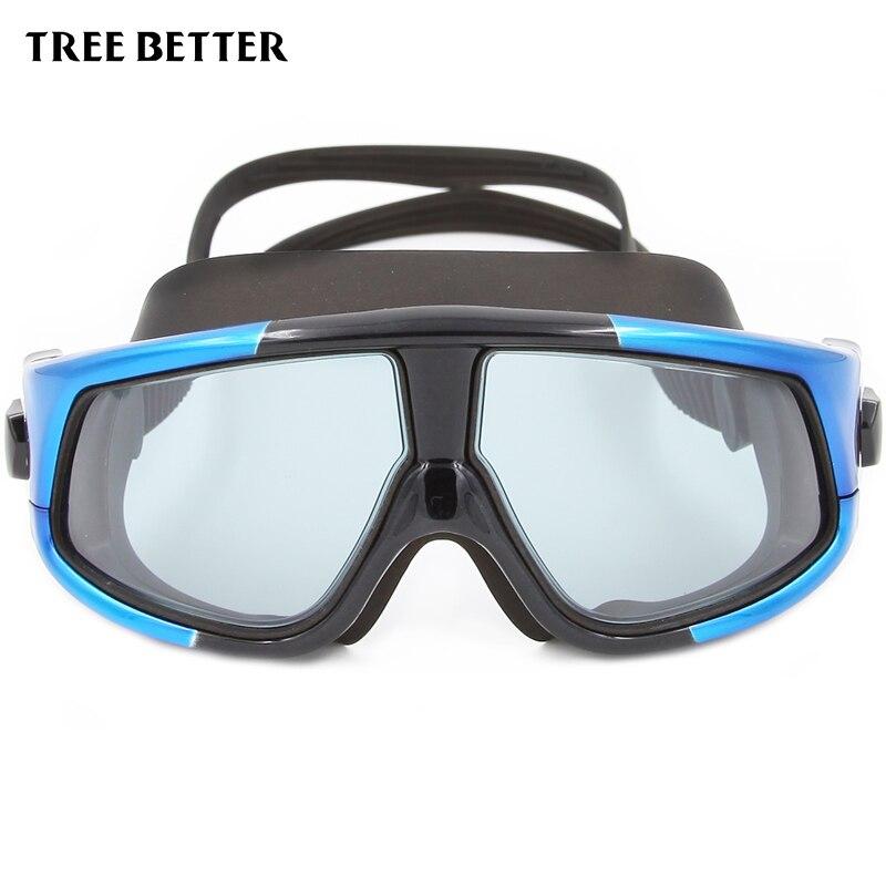 ✅Profesional protección UV nadar Gafas anti Rana gran caja ...