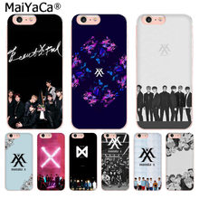 MaiYaCa Monsta X KPOP Boy Group silicone On Sale Luxury Phone Case for iphone 11 pro 8 7 66S Plus X 10 5S SE XS XR XS MAX(China)