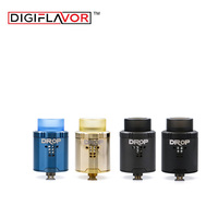 Digiflavor Drop RDA with BF squonk 510 pin 24mm electronic cigarette tank large post holes Stepped airflow design