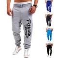 2016 New Fashion Letter Print Harem Pants Sweat Pants Men Trousers Sportswear Jogger Pants Outdoors Joggers Men
