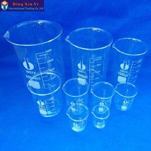 Image 5 - (12 unids/lote) Vaso de vidrio de 50 ml, suministros de laboratorio, vaso de laboratorio, vaso de calidad, boro alto material