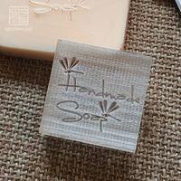 2016 Free Shipping Natural Handmade Acrylic Soap Seal Stamp Mold Chapter Mini Diy Dragonfly Patterns Organic