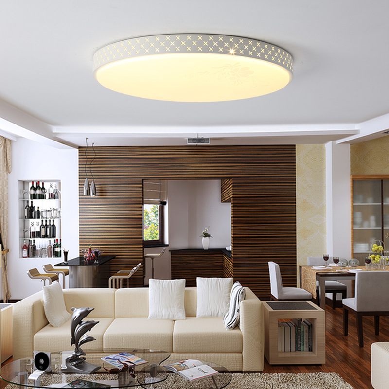 Modern RGB Ceiling Light LED Lamp Panel Round Hall Surface Mount Flush Remote Control Living Room Bedroom Lighting Fixture led ceiling light modern lamp panel living room square lighting fixture bedroom kitchen hall surface mount flush remote control