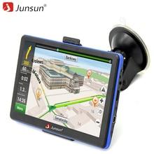 Navegantes Junsun 7 pulgadas HD Gps de Navegación FM MP3/MP4 Jugadores Navitel/Europa Mapa Actualización Gratuita de Camiones gps Sat nav del automóvil