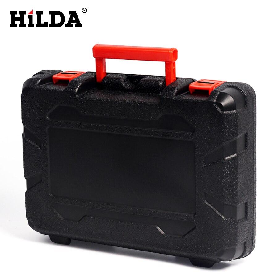 HILDA multifunción amoladora eléctrica piezas de caja de herramientas caja de almacenamiento portátil para 400W