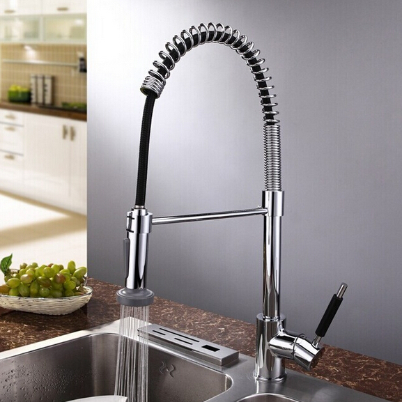 New Kitchen Faucet Pull Out Kitchen Mixer Sprayer Torneira - Tall kitchen faucets