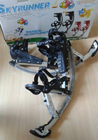 Jumping Stilts For People Weight 88lbs~132lbs/40kg~60kg black/skyrunner/Jump shoes/Flying Shoes/Extreme Sports