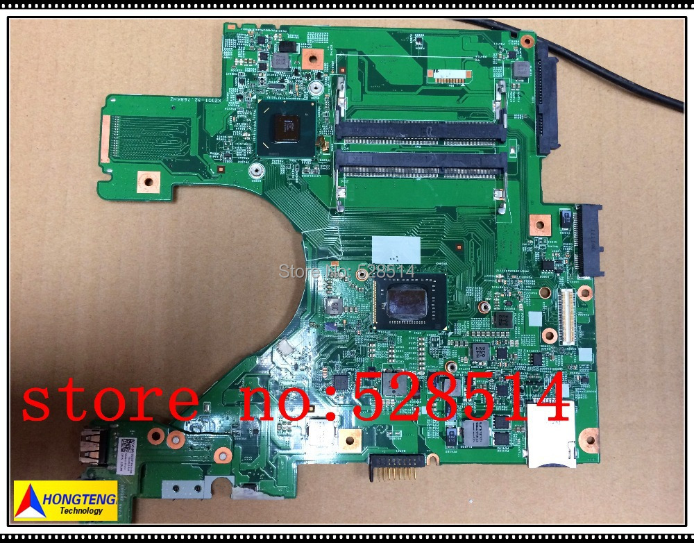 Original DJ5 MB 48.4ND01.011 for DELL V31 laptop motherboard with cpu DDR3  100% Test ok