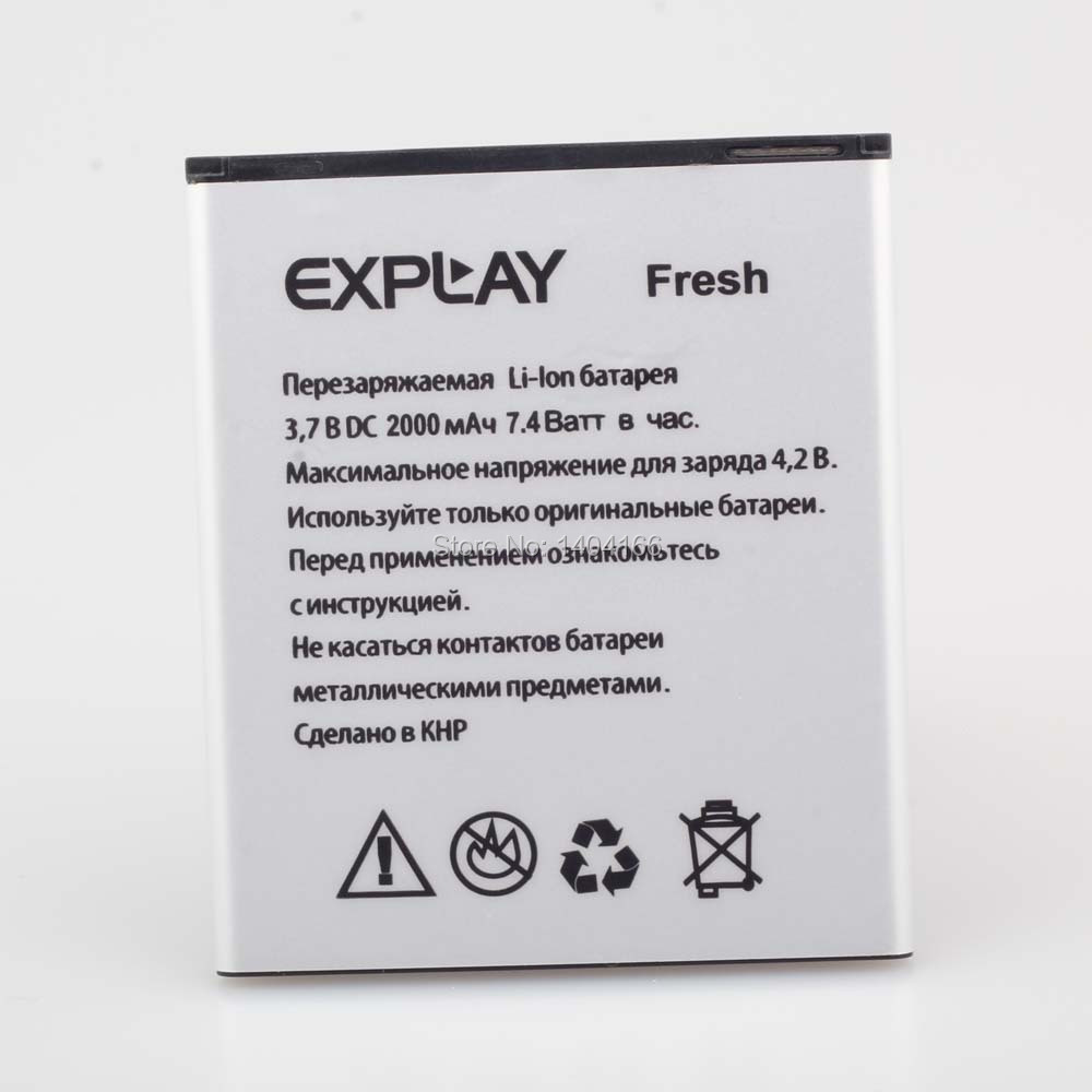 Dxqioo 3.7V , 2000mAh , 100% New and original The cell phone battery for EXPLAY(Explay)  Fresh  battery free shipping