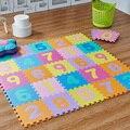 10 Pçs/lote Crianças Enigma Mat Game Pad Tapetes de Jogo Do Bebê de Desenvolvimento