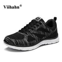 Nuevos Deportes Para Hombre Zapatos Flyknit Racer Ligero Zapatos Corrientes De Los Hombres Atléticos de Los Hombres Respirables de las Zapatillas de deporte zapatillas Krasovki