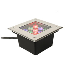 LED Outdoor Ground Garden Path Floor Underground Buried Yard Lamp Square 36W AC85-265V DC12V IP67 Waterproof Spot Landscape