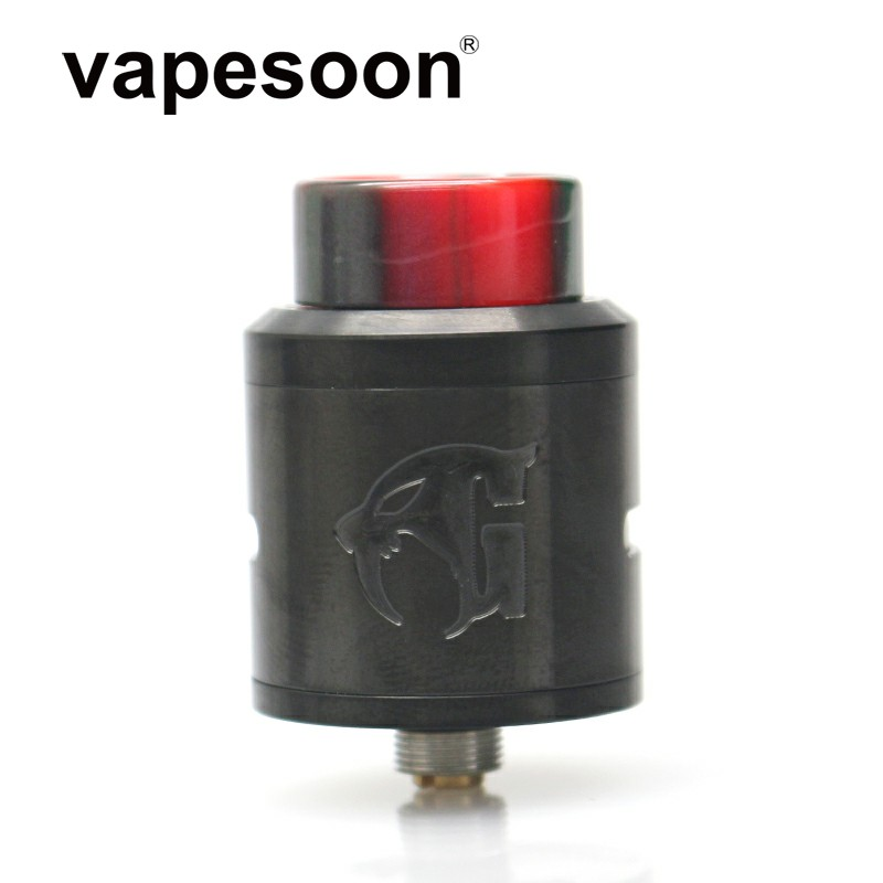 Nach Vapes 528 Goon V1.5 RDA 24mm Zerstäuber DIY Spule Verdampfer 810 Tropfspitze für 510 e-Zigarette mod