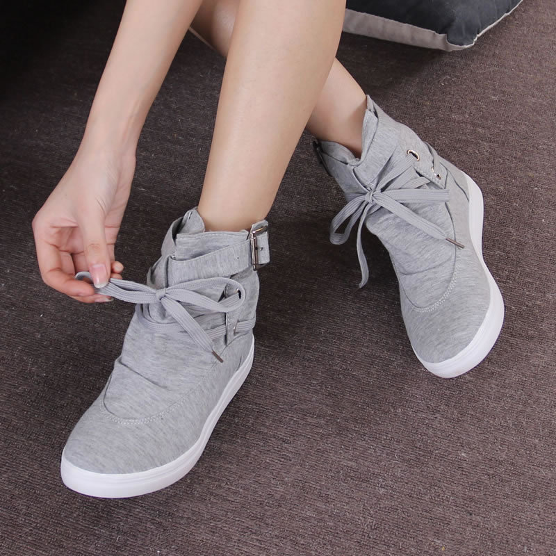 Mocassins Taille 35 Dames Tops 41 2018 Peitosin Toile Casual Chaussures gris Gris Nouveau Appartements Noir De Dentelle up Femme Noir Haute aqxw6TtwZ