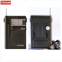 Portable TECSUN R-808 Radio High Sensitivity Receiver FM / MW / SW Radio Multiband World Band Receiver Y4141A Digital Receiver(China)