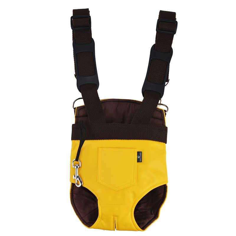 มาใหม่สัตว์เลี้ยง Carrier หนัง Kangaroo แม่ Pet Dog Cat กระเป๋ากระเป๋าเป้สะพายหลังกระเป๋าเป้สะพายหลังลูกสุนัขพกพากระเป๋า