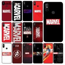 Marvel Superheroes The Avengers Custom Photo Soft Phone Case For Xiaomi Note2 Note3 MI6 MI8 Redmi5 Redmi 5plus Max2 Max3