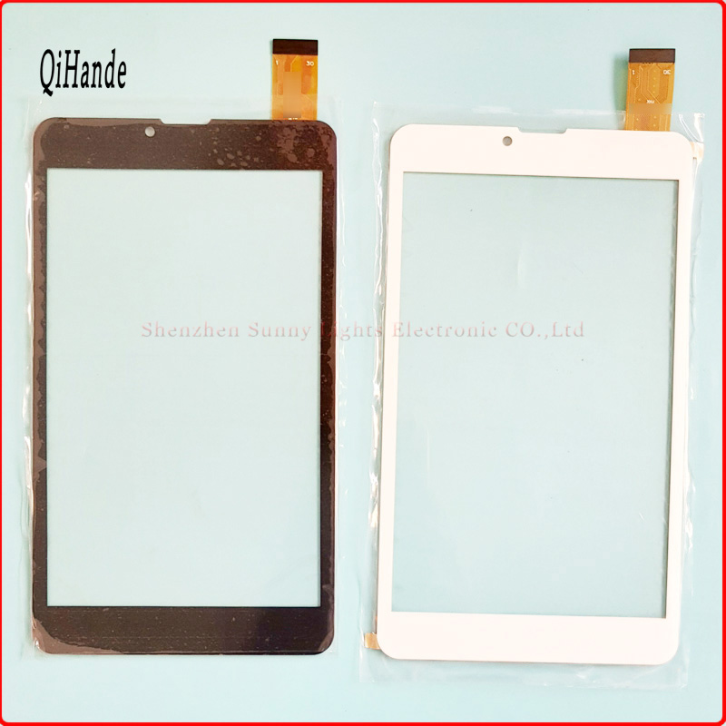 7'' Inch Tablet Capacitive Touch Screen Replacement For BQ 7010G Max 3G Tablet Digitizer External screen Sensor Black White black new 8 tablet pc yj314fpc v0 fhx authentic touch screen handwriting screen multi point capacitive screen external screen