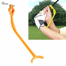 1pcs Golf Swing Trainer Beginner Practical Practicing Guide Gesture Alignment Training Aid Aids Correct Swing Trainer Dropship(China)