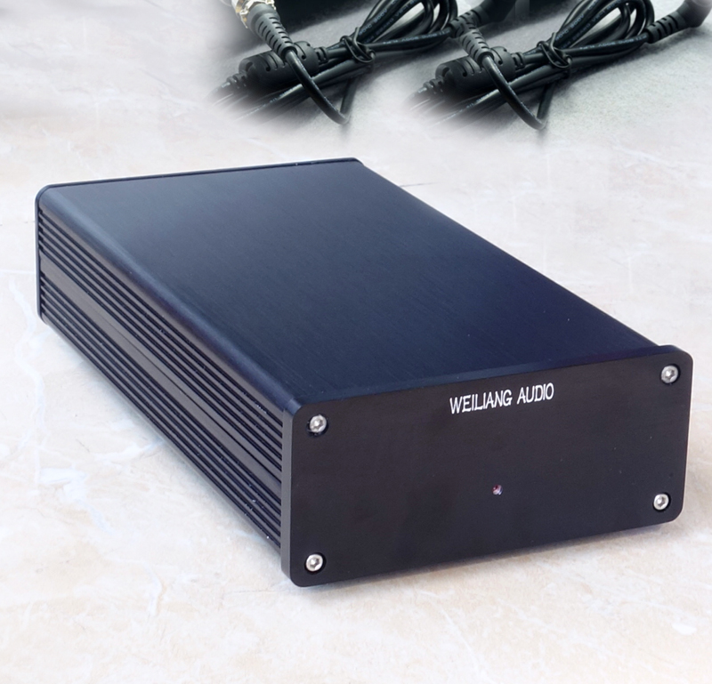 WEILIANG AUDIO linear regulated power supply 50W double output 5v 24v is optional