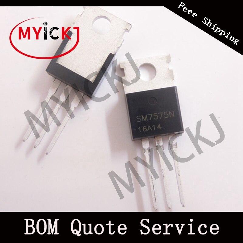5PCS SM7575N SM7575NSF ANPEC SM7575NSF IC-CHIP  TO-220