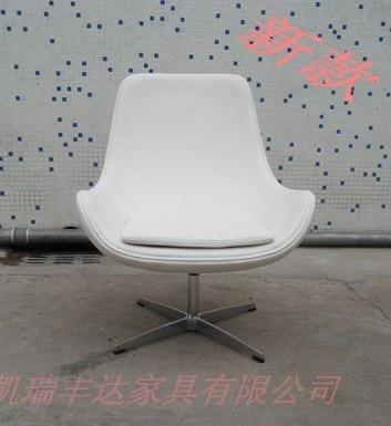 El nuevo sala de recepción silla de cuero silla giratoria a discutir ...