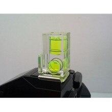 1pc Dual Double 2 Axis Bubble Spirit Level Gradienter Hot Shoe For Camera DSLR Hot Shoe